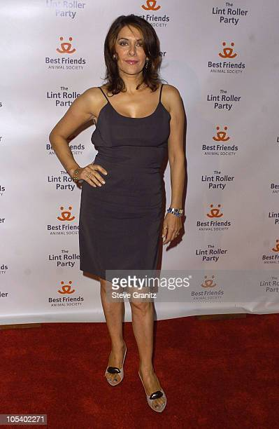 Marina Sirtis during 2004 Annual Lint Roller Party at Hollywood Athletic Club in Hollywood California United States