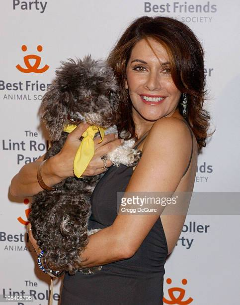 Marina Sirtis during 2004 Annual Lint Roller Party at Hollywood Athletic Club in Hollywood, California, United States.