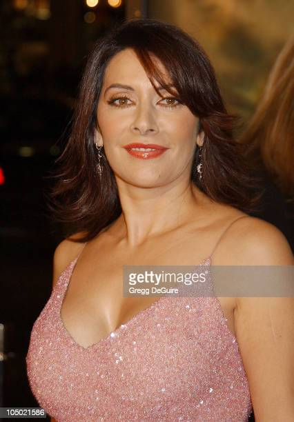 "Marina Sirtis during ""Star Trek: Nemesis"" World Premiere at Grauman's Chinese Theatre in Hollywood, California, United States."