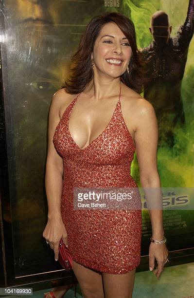 Marina Sirtis 'Star Trek Nemesis' Movie Premiere At The Empire Leicester Square London
