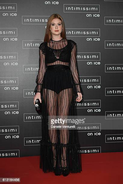 Marina Souza Ruy Barbosa attends Intimissimi On Ice at Arena on October 7 2016 in Verona Italy