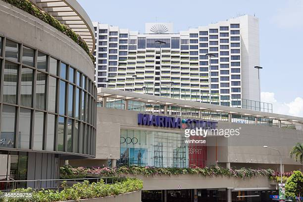 marina square shopping mall - marina square stock photos and pictures