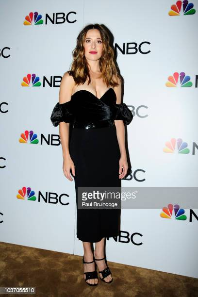 Marina Squerciati attends NBC And The Cinema Society Host A Party For The Casts Of NBC's 20182019 Season at The Four Seasons Restaurant on September...
