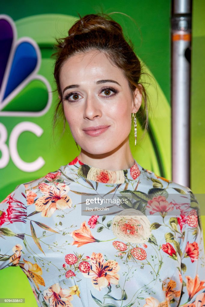 Marina Squerciati attends NBC's New York mid season press junket at Four Seasons Hotel New York on March 8, 2018 in New York City.