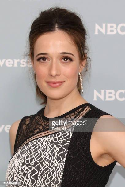 Marina Squerciati attends the 2018 NBCUniversal Upfront Presentation at Rockefeller Center on May 14 2018 in New York City