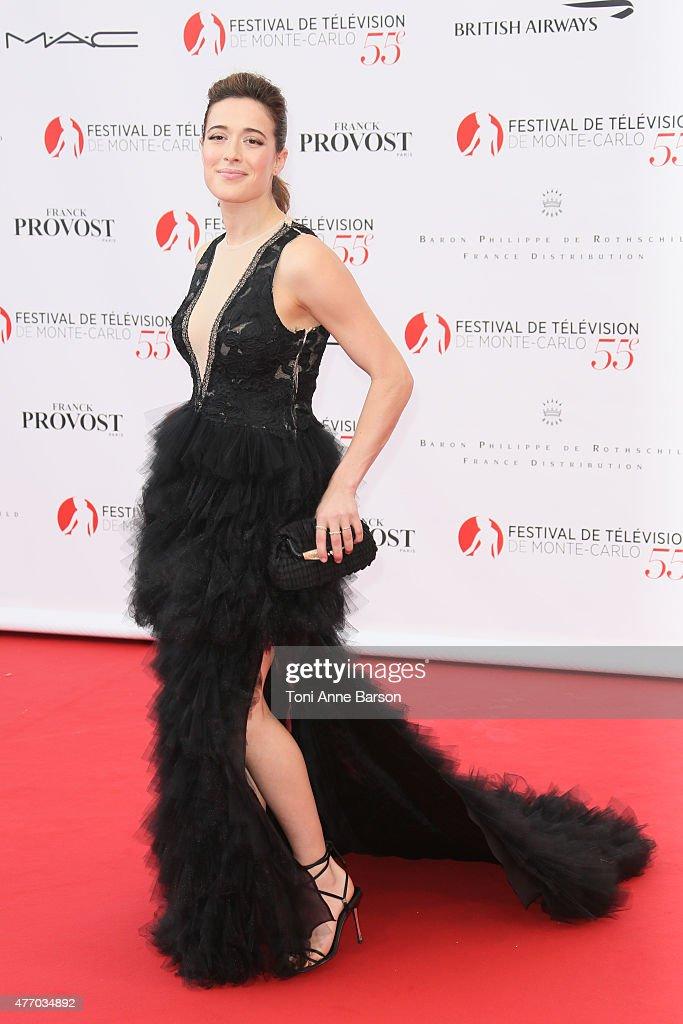 Marina Squerciati attends the 55th Monte Carlo TV Festival Opening Ceremony at the Grimaldi Forum on June 13, 2015 in Monte-Carlo, Monaco.