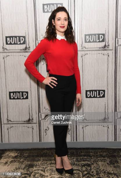 Marina Squerciati attends the Build Series to discuss her role in the show 'Chicago PD' at Build Studio on March 04 2019 in New York City