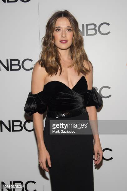 Marina Squerciati attends the NBC and The Cinema Society Party for the casts of NBC's 20182019 Season at the Four Seasons Restaurant on September 20...