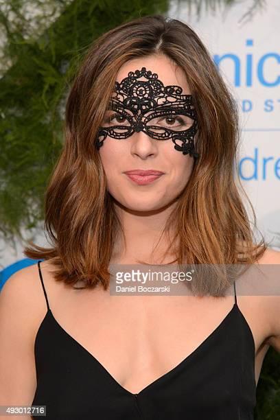 Marina Squerciati attends UNICEF Neverland Masquerade Ball at Moonlight Studios on October 16 2015 in Chicago Illinois