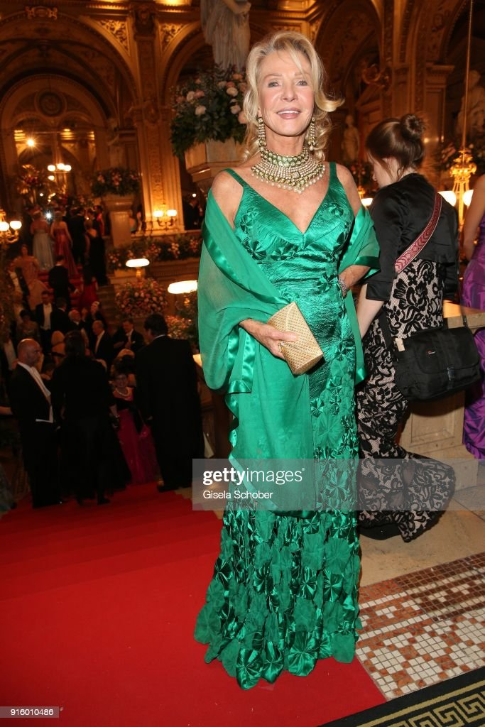 48f645e94ad3 Marina Swarovski Giori during the Opera Ball Vienna at Vienna State ...