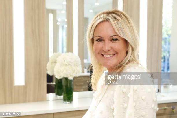 Marina Turovets attends the Roman K Salon Madison Avenue Opening on November 21 2019 in New York City