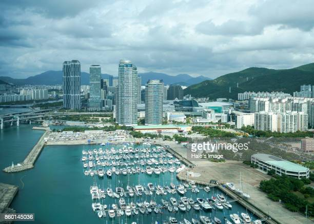 Marina Yacht Harbor, Busan, South Korea