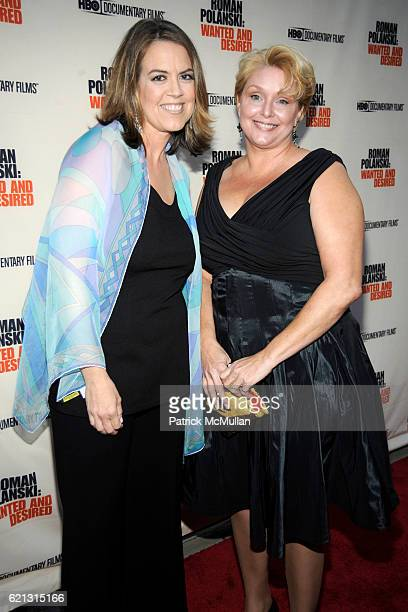 Marina Zenovich and Samantha Geimer attend HBO Documentary Films' New York Premiere of 'ROMAN POLANSKI Wanted and Desired' at The Paris Theater on...