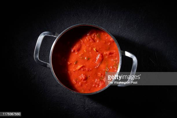 Marinara Sauce photographed for American Food Project at The Washington Post via Getty Images in Washington DC on September 12th 2019