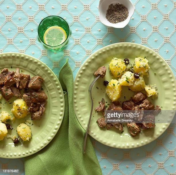 Marinated Roast Pork with Potatoes