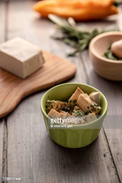 marinatura tofu - kinako stock pictures, royalty-free photos & images