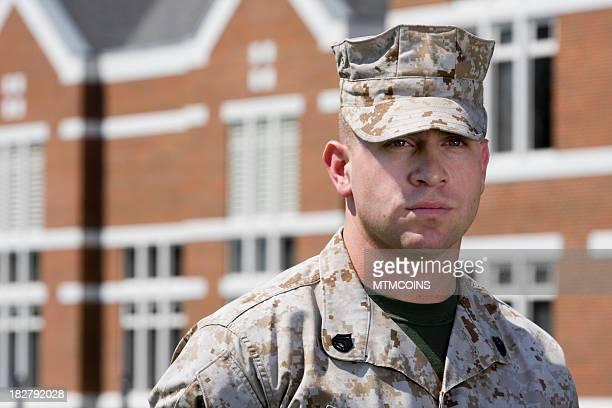Marine at School