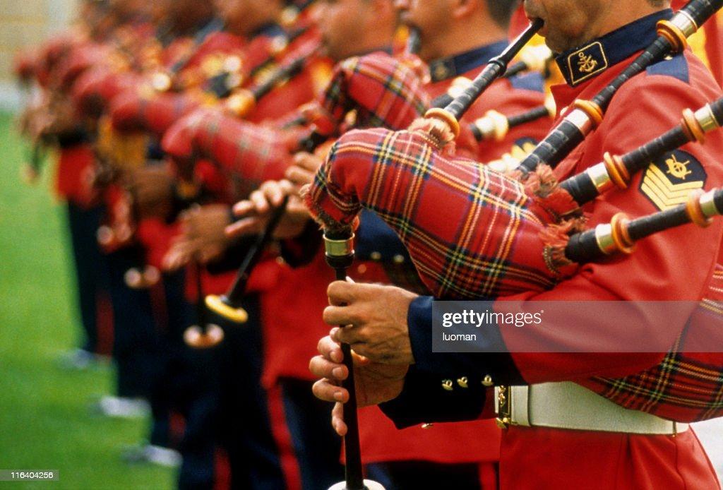 Marine band : Stock Photo