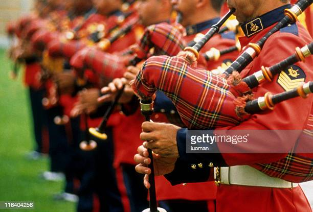 marine band - scotland stock pictures, royalty-free photos & images