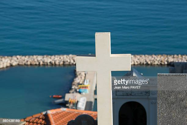 marine cemetery - jean marc payet bildbanksfoton och bilder