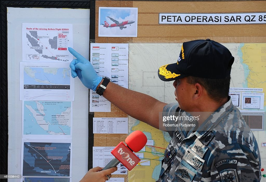 Recovery Operation Continues For AirAsia QZ8501 Wreckage : News Photo