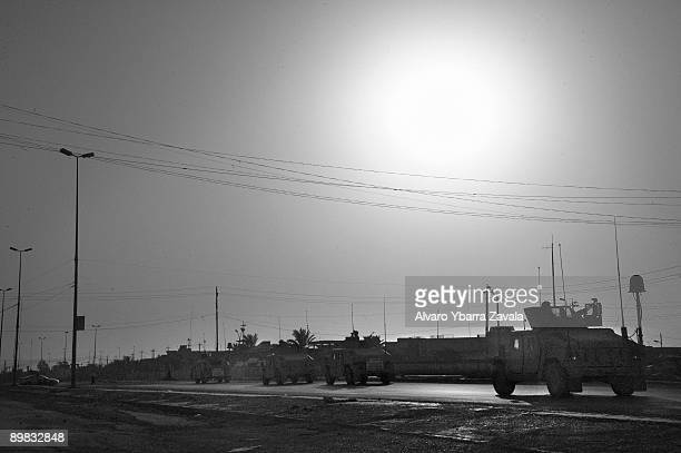 US marine convoy on its way back to base in Fallujah Fallujah continues to be a symbol for the Iraqi resistance and is the most insurgenthit city of...