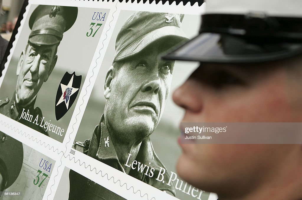 Marine Corps Commemorative Stamps Unveiled On USMC\'s 230th ...