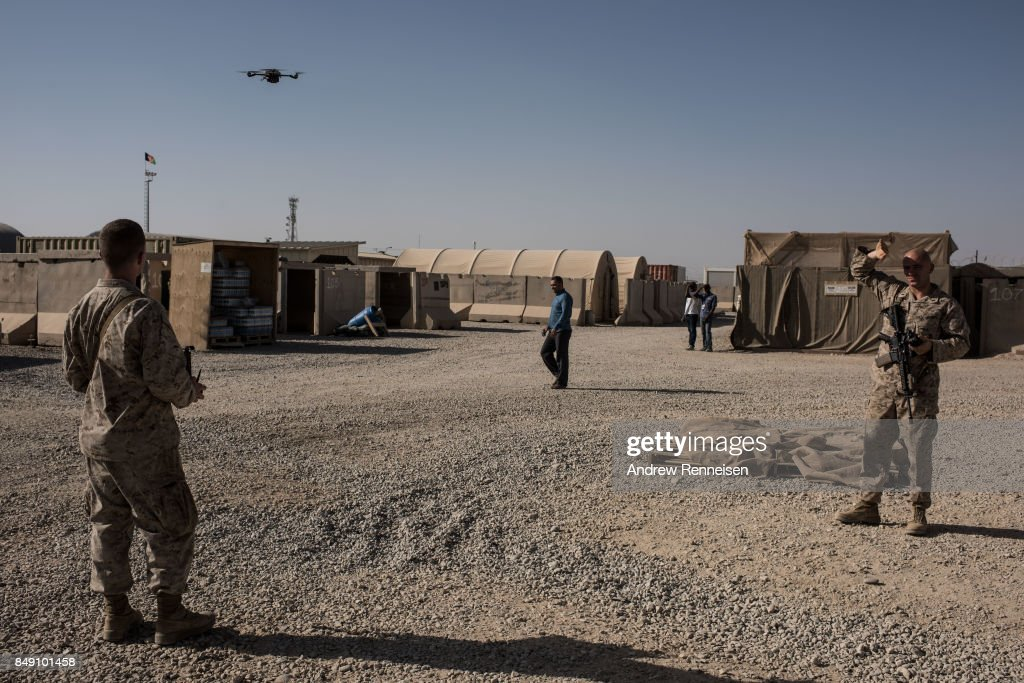 United States Continues Role in Afghanistan as Troop Numbers Increase : News Photo
