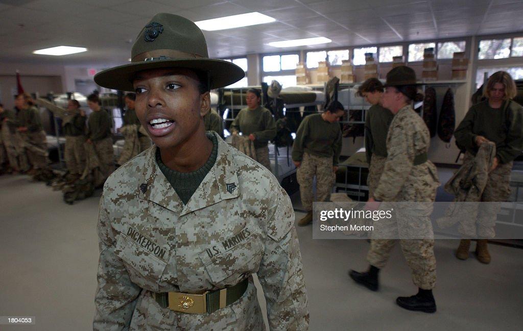 marine corps drill instructer