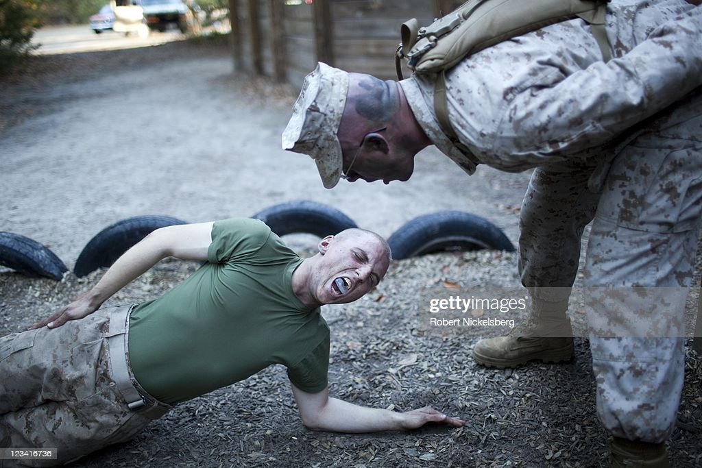 Parris Island: US Marine Corps Boot Camp : News Photo