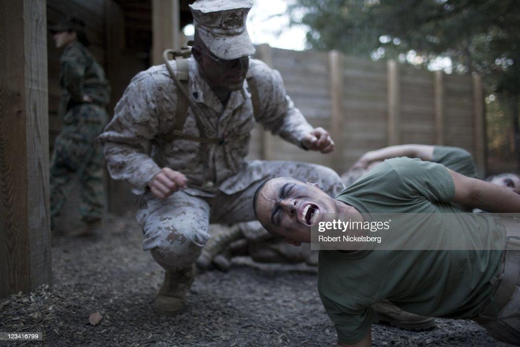 Parris Island: US Marine Corps Boot Camp : Nachrichtenfoto