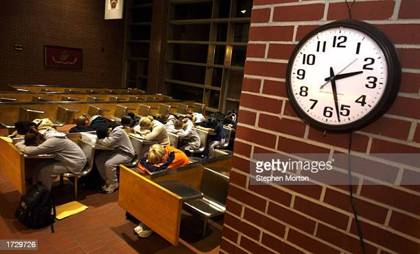 S Marine Corps female recruits rest while waiting for instructions after arriving early for boot camp training January 16 2003 at Parris Island South...