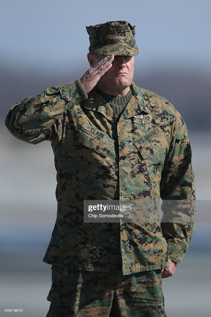 Body Of Marine Killed In Afghanistan Returned To U.S. At Dover Air Force Base