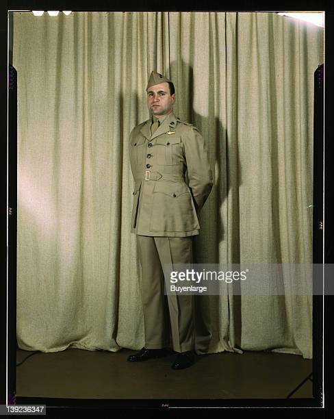 Marine Corps Major in summer uniform World War II 1943