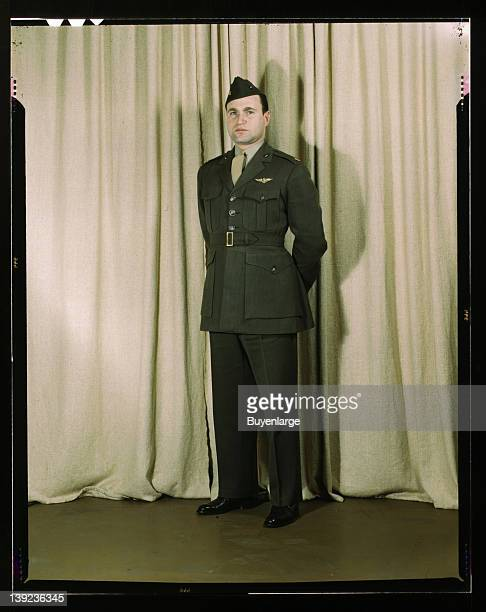 Marine Corps Major in winter uniform World War II 1943