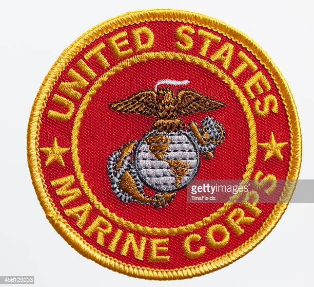 us marine corps seal - marines military stock photos and pictures