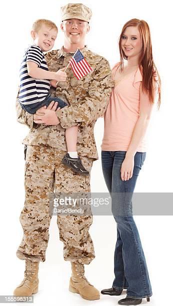 U S Marine Corps Soldier & Family Studio