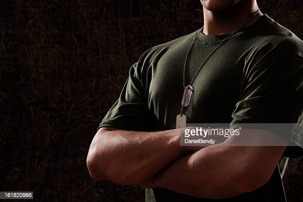 us marine corps solider dark - us marine corps stock pictures, royalty-free photos & images
