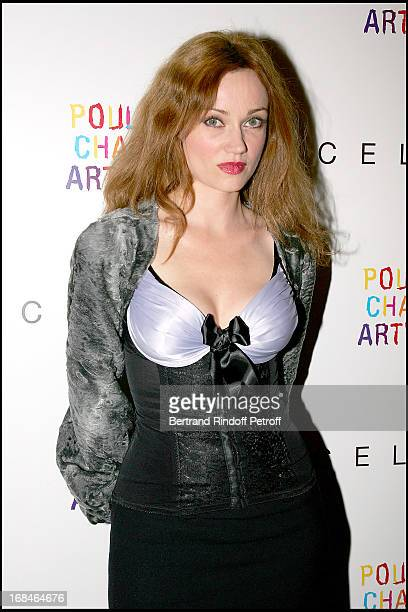 Marine Delterme at Celine Party For The Poublot Charity Artwork For The Benefit Of The Association Children's Dreams