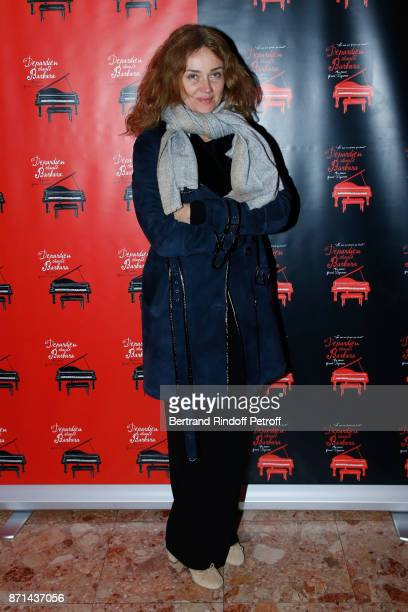 "Marine Delterme attends ""Depardieu Chante Barbara"" at Le Cirque d'Hiver on November 6, 2017 in Paris, France."