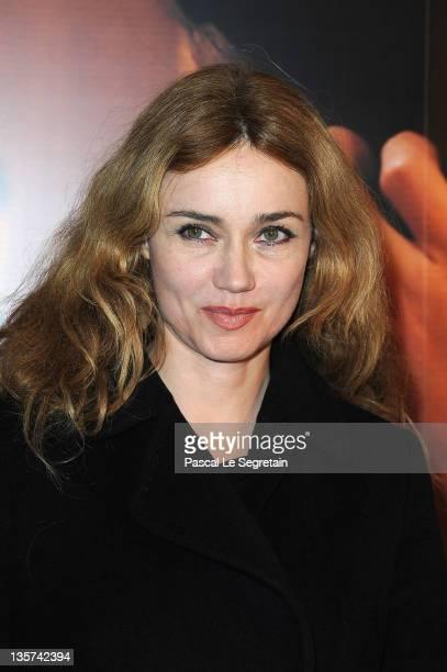 Marine Delterme attends 'La Delicatesse' Paris Premiere on December 13 2011 in Paris France