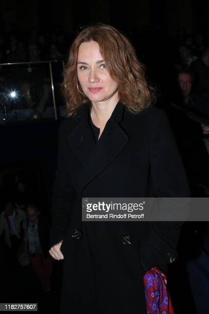 "Marine Delterme attends the ""Mon Chien Stupide"" premiere at UGC Normandie on October 22, 2019 in Paris, France."
