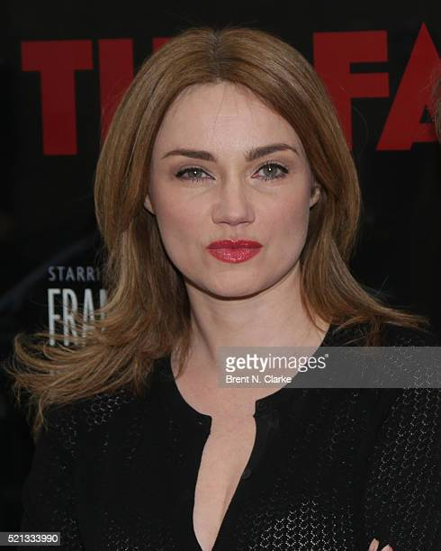 Marine Delterme attends the opening night of The Father held at the Samuel J Friedman Theatre on April 14 2016 in New York City