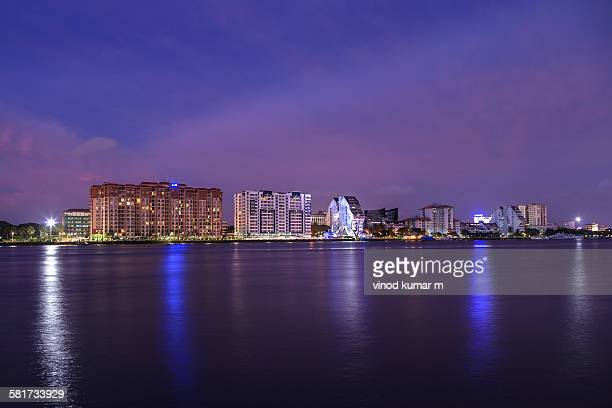 marine drive, kochi - kochi india stock pictures, royalty-free photos & images