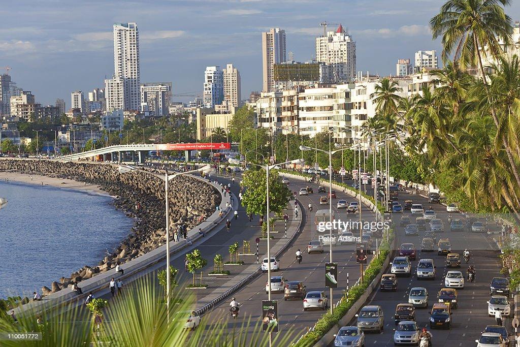 Marine Drive Mumbai India Stock Photo | Getty Images