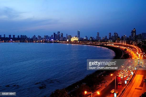 marine drive mumbai - mumbai stock pictures, royalty-free photos & images