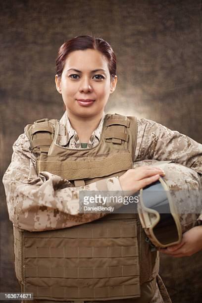 US Marine in Combat Gear