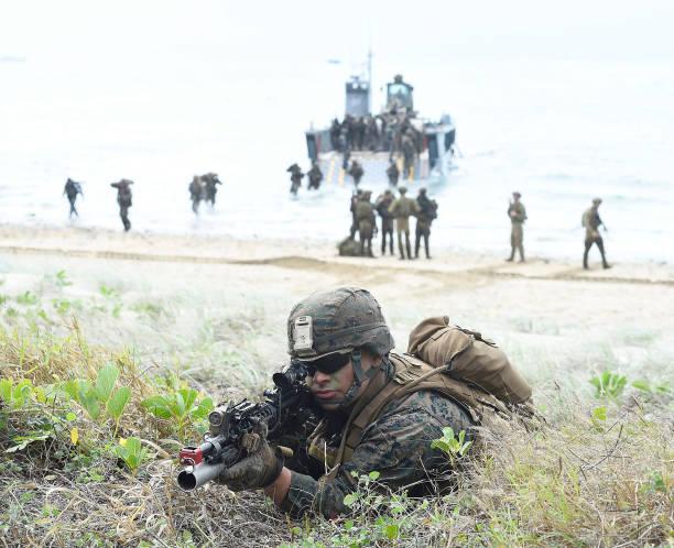 AUS: Soldiers Participate In Bowen Beach Landing As Part Of Exercise Talisman Sabre 2019