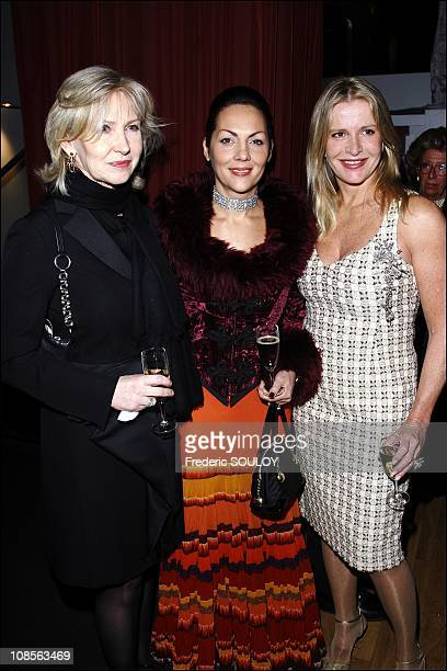 Marine Jacquemin and Princess Hermine of ClermontTonnerre in Paris France on February 05 2007
