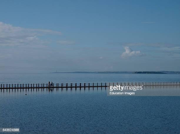 Marine Lake Causeway WestonsuperMare Somerset UK